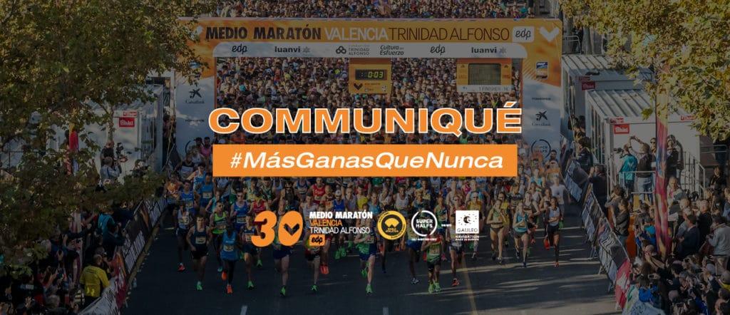 Communique Valencia Semi Marathon