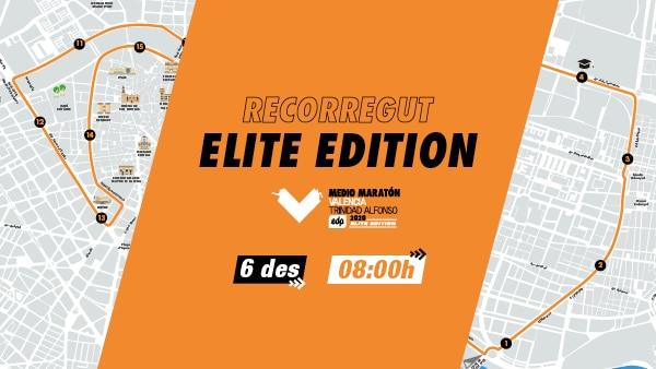 Recorregut Mitja Marato Valencia Elite Edition