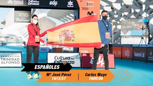 Españoles Medio Maratón Valencia