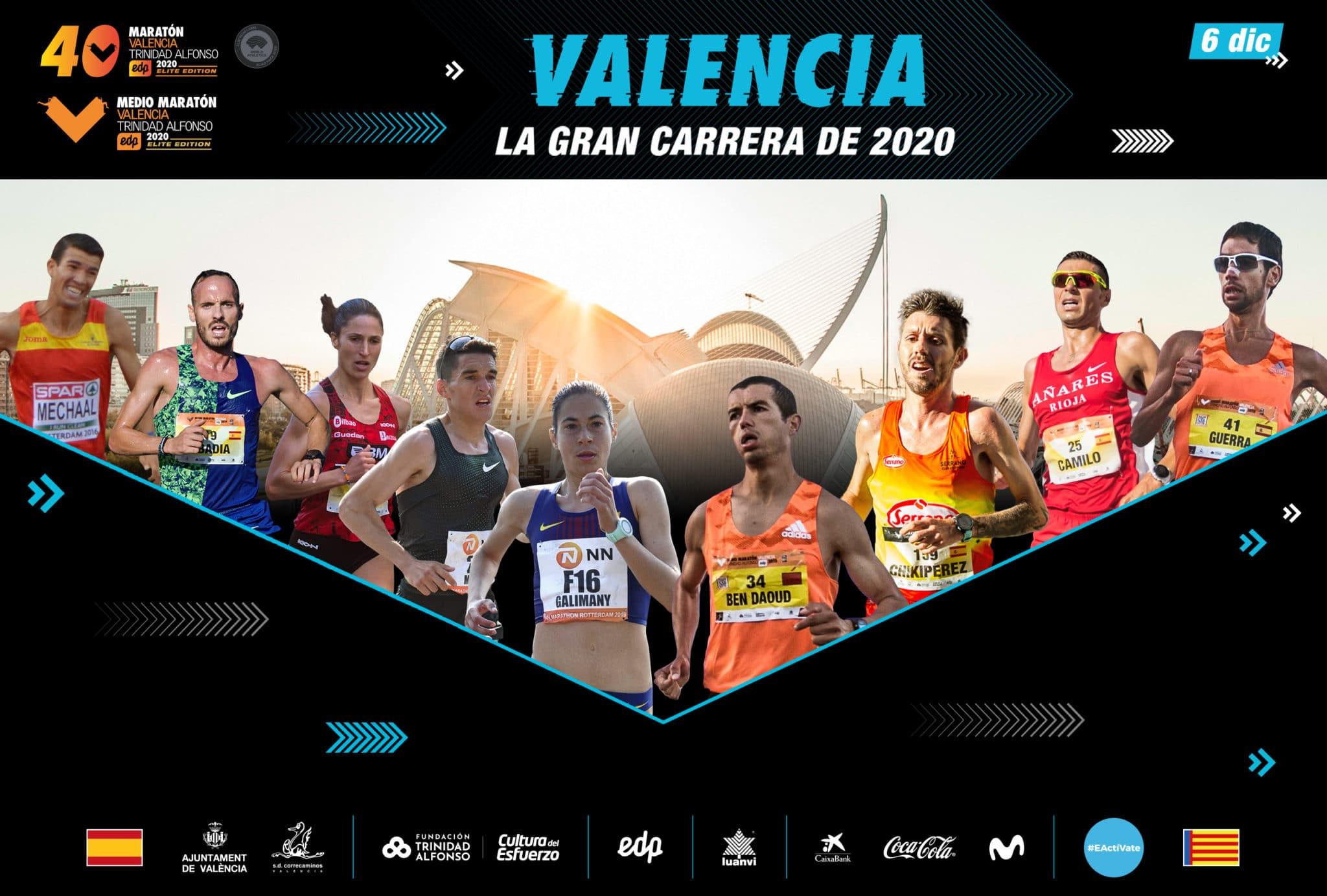 Elite nacional Maraton Valencia