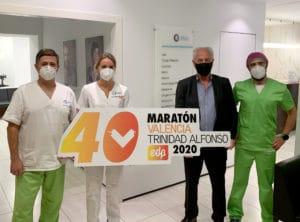 Aiken patrocinador del 40º aniversario del Maratón Valencia