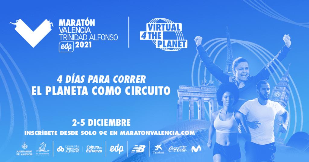 Virtual Maratón Valencia 2021