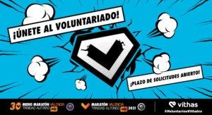 Voluntariado Medio Maratón y Maratón Valencia 2021