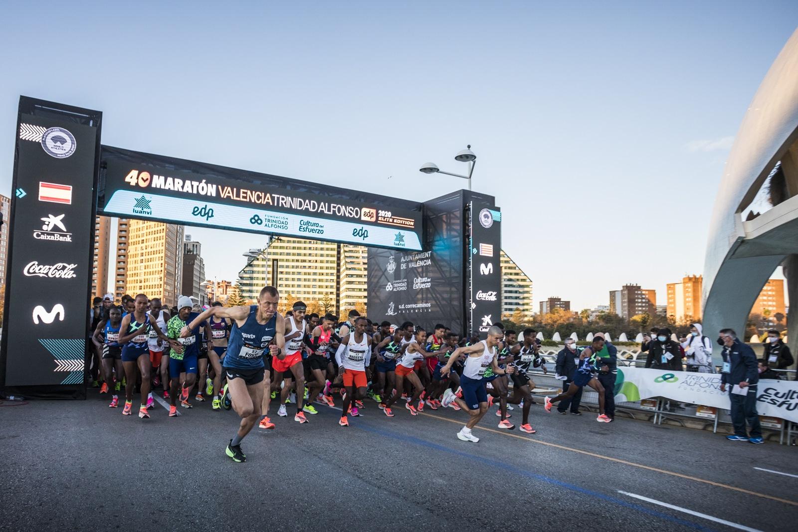 Salida Maraton Valencia 2020