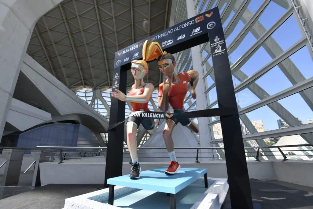 New Balance - escena fallera Maratón