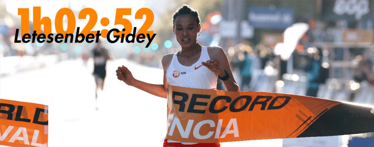 World Record Letesenbet Gidey