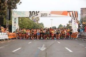 10K Valencia 2021 - Salida